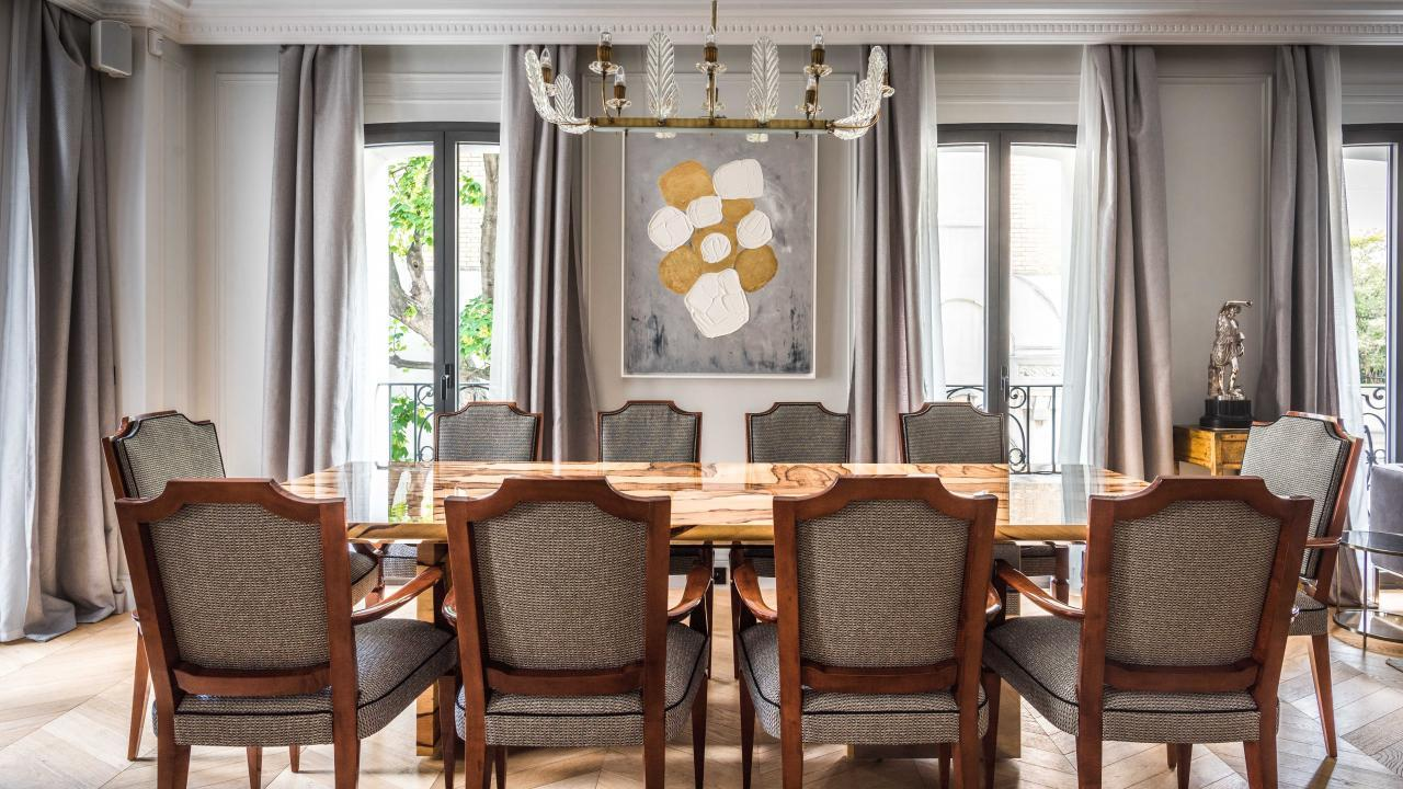 Maison Montespan - Dining Room