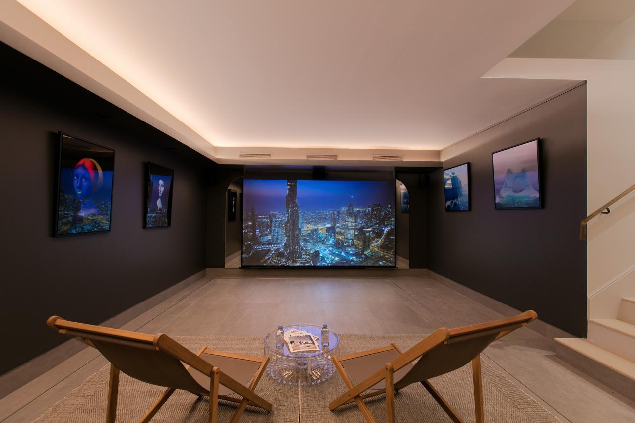 Maison Montespan - Salle de cinéma