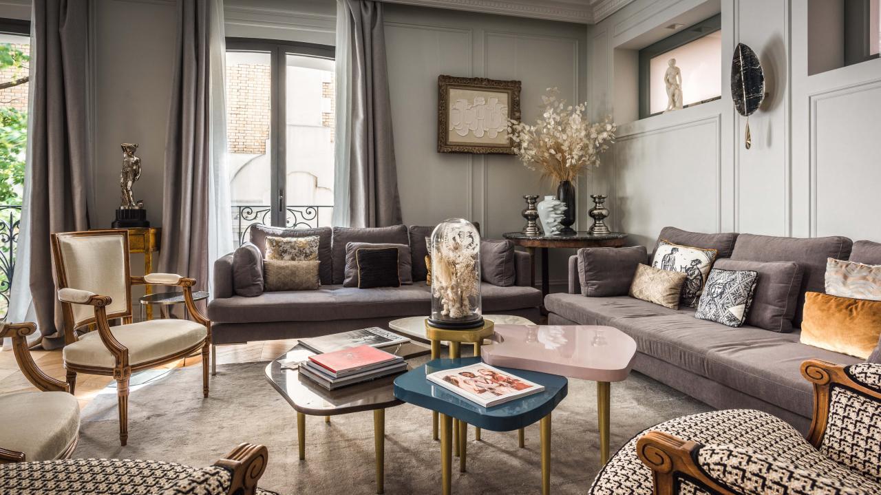 Maison Montespan - Salon